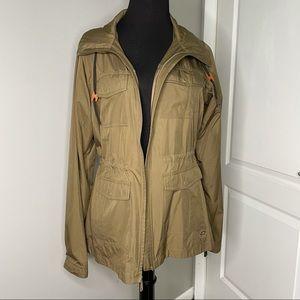 Mountain Hardwear Brown Lightweight Hooded Jacket